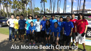 Ala Moana Beach Clean-up