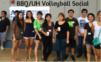 BBQ/UH Volleyball Social